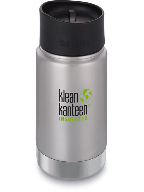 Klean Kanteen Wide Vacuum Insulated - Recipientes para bebidas - Café Cap 2.0 355ml Plateado